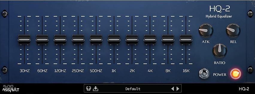Audio Assault HQ 2 hybrid equalizer