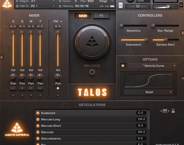 Audio Imperia Talos Vol 2 Low Brass