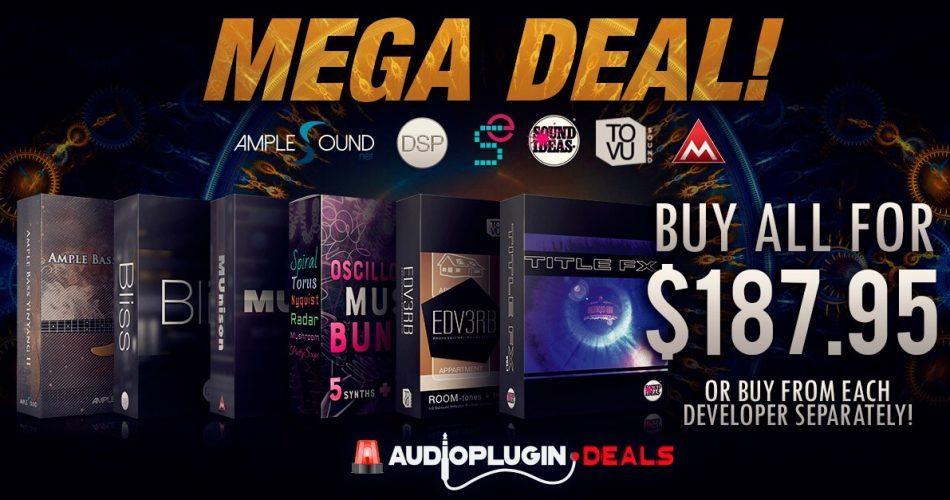 Audio Plugin Deals Mega Deal Bundle 2