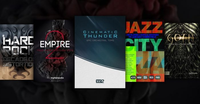 Big Fish Audio Deals Empire 2 Cinematic Thunder and more