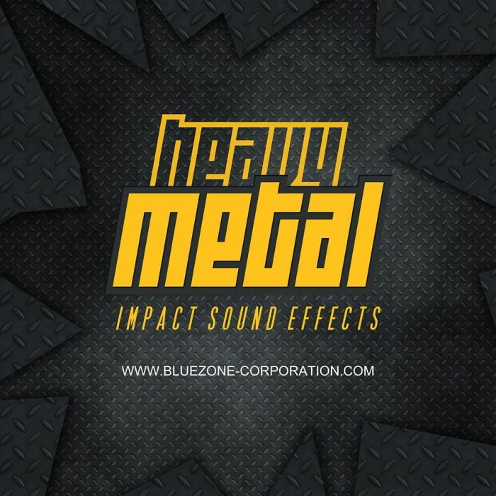 Bluezone Heavy Metal Impact Sound Effects
