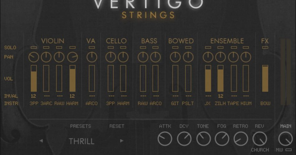 CI Vertigo Strings