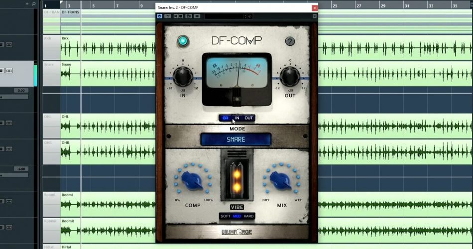 Drumforge DF-COMP drum compressor