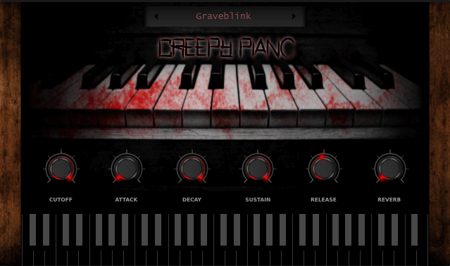 Electronik Sound Lab Creepy Piano