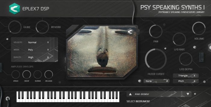 Eplex7DSP Psytrance speaking synths 1