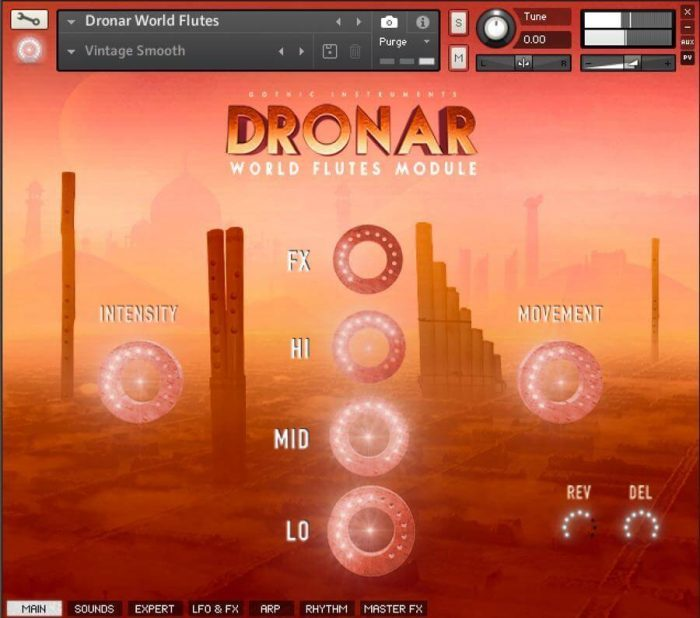 Gothic Instruments Dronar World Flutes Main Page
