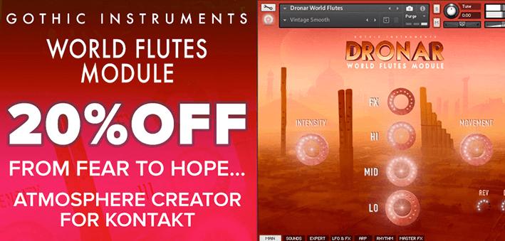 Gothic Instruments Dronar World Flutes Module