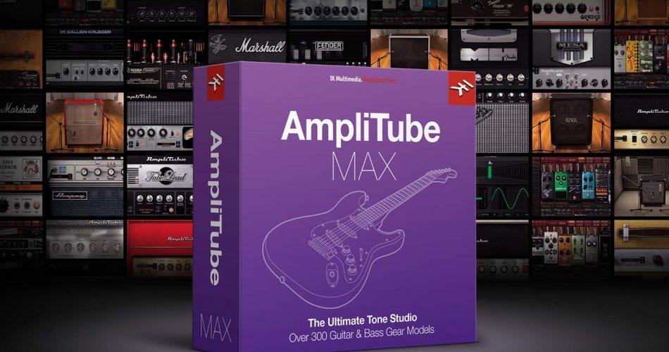IK Multimedia AmpliTube MAX Sale