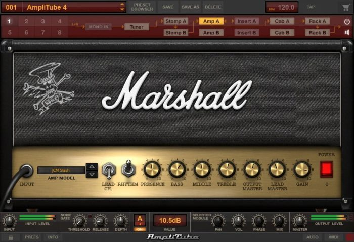 IK Multimedia AmpliTube Slash