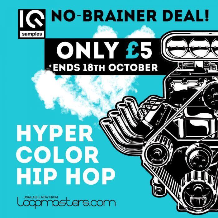 IQ Samples Hyper Color Hip Hop No Brainer Deal
