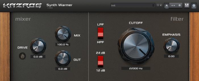 Kazrog Synth Warmer