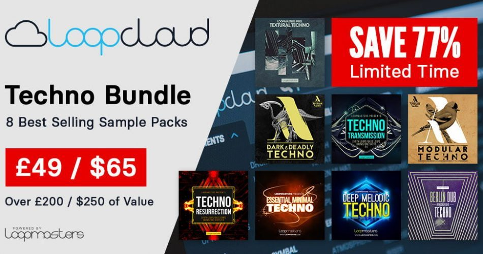 Loopmasters Loopcloud Techno Bundle