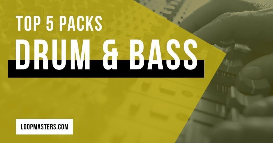 Loopmasters Top 5 Drum & Bass packs