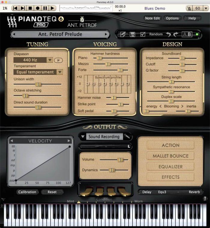 Modartt ANT. PETROF 275 for Pianoteq