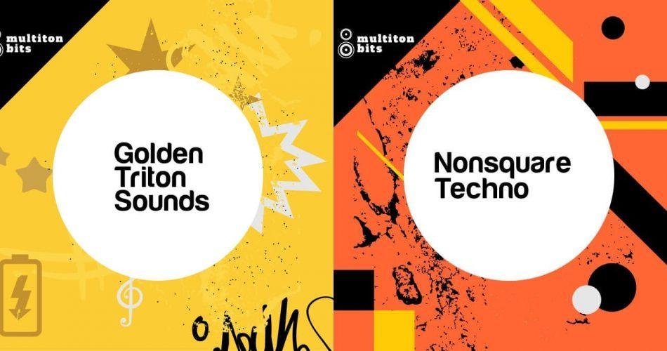 Multiton Bits Golden Triton Sounds and Nonsquare Techno