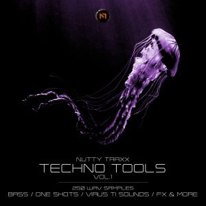 Nutty Traxx Techno Tools Vol 1