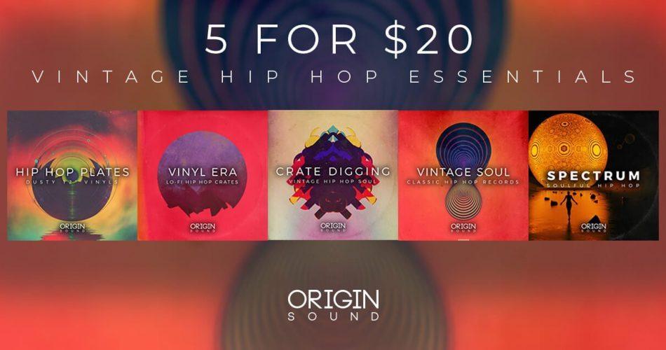Origin Sound Vintage Hip Hop Essentials Bundle feat