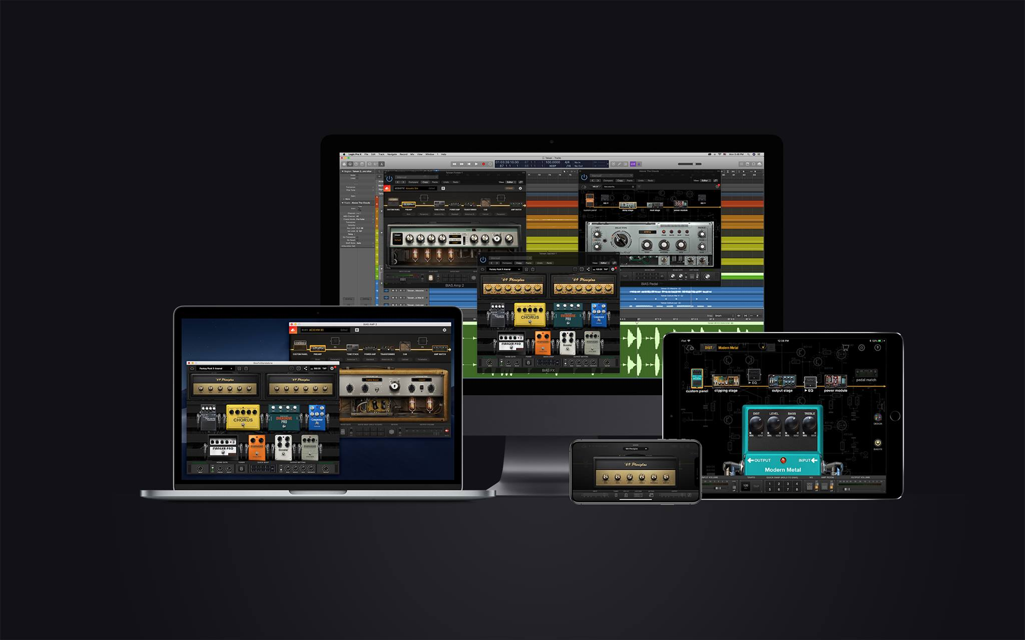 Positive Grid Launches Bias Fx Mobile Universal For Iphone