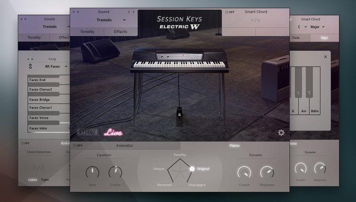 Session Keys Electric W Live