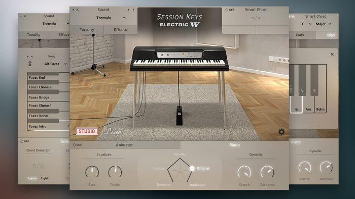 Session Keys Electric W Studio