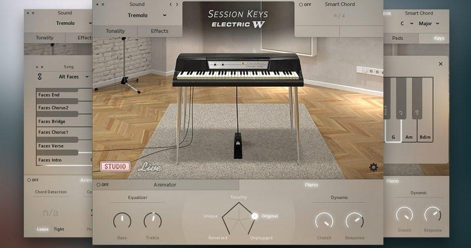 Session Keys Electric W GUI Collage Studio