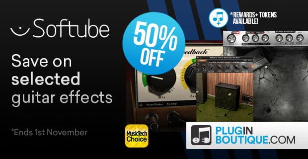 Softube Guitar Plugin Sale