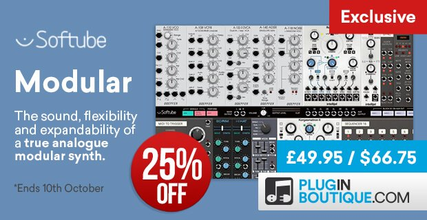 Softube Modular 25 off exclusive