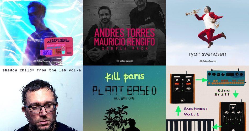 Splice Sounds Shadow Child, Alex Lustig, Kill Paris, King Britt, Ryan Svendsen, Andres Torres & Mauricio Rengifo