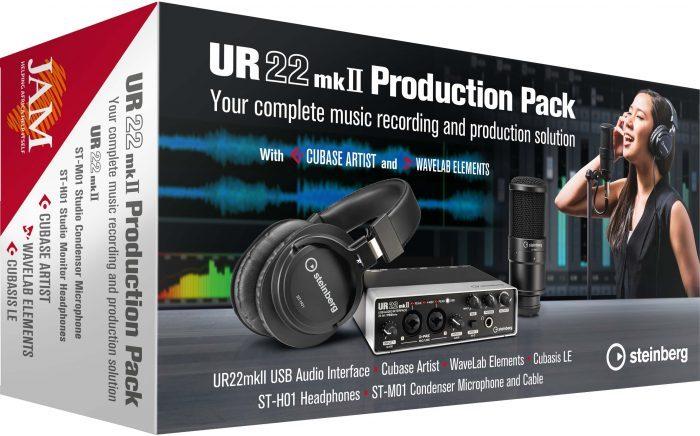 Steinberg UR22mkII ProductionPack