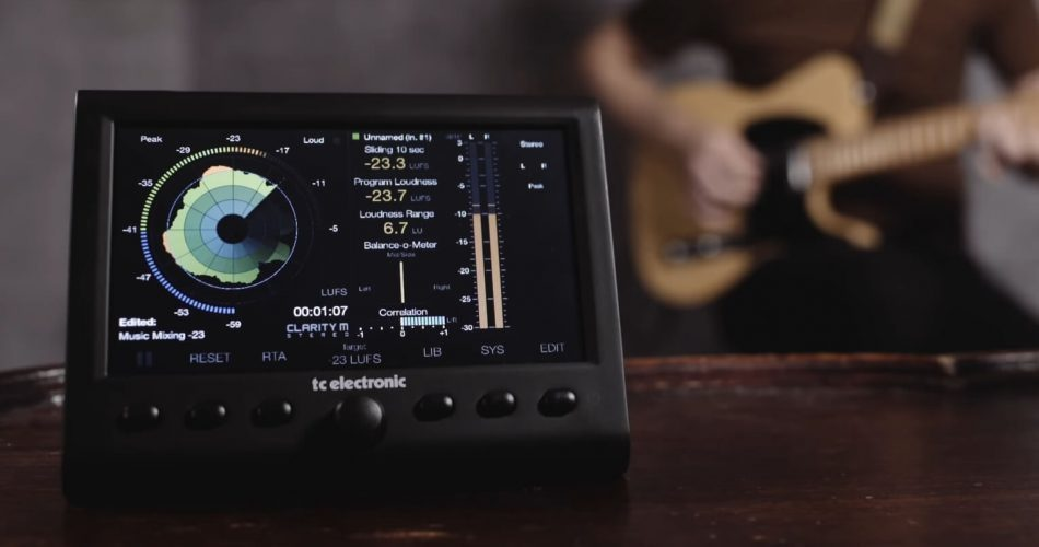 TC Electronic Clarity M Stereo feat