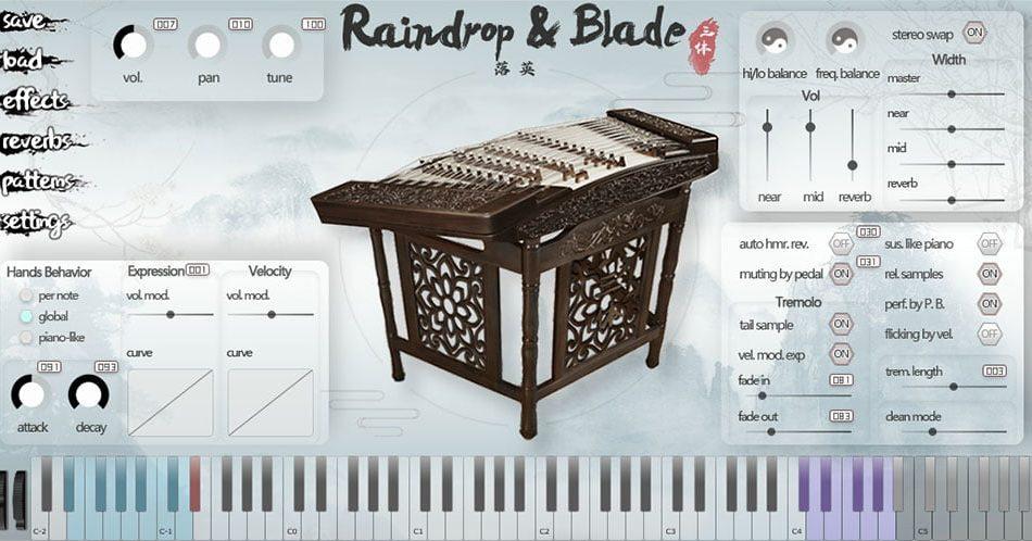 ThreeBody Technology Raindrop & Blade
