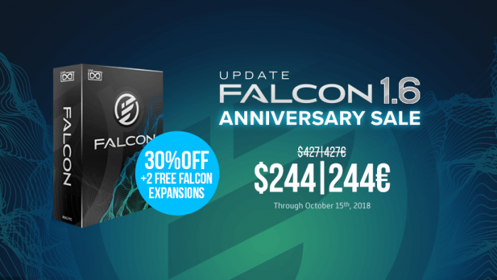 UVI Falcon 1.6 deal