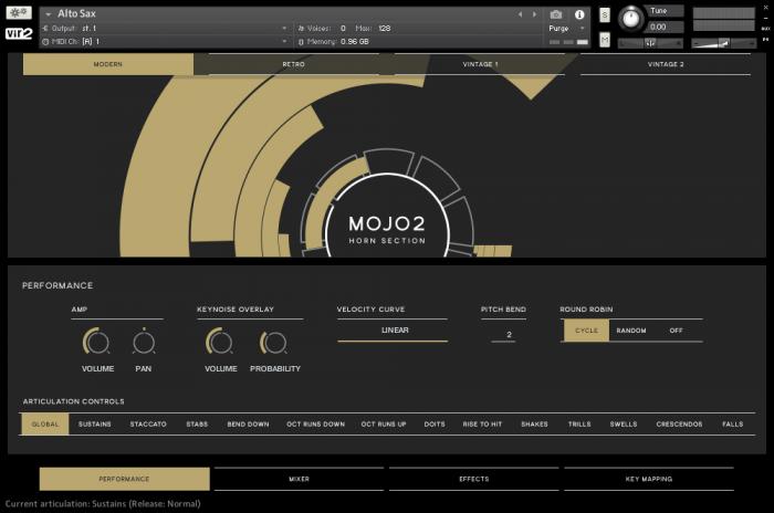 Vir2 MOJO2 GUI Performance