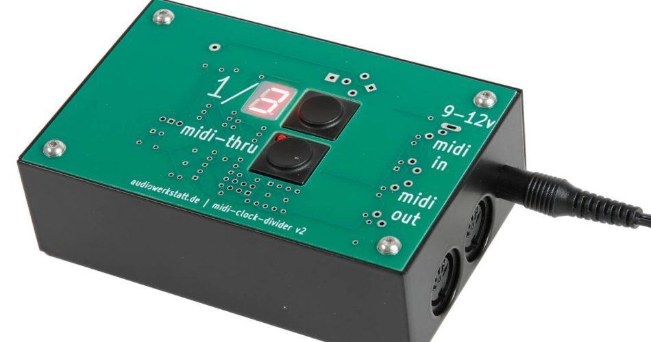 audiowerkstatt midi clock divider v2