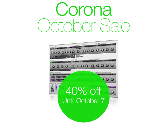 discoDSP Corona October Sale