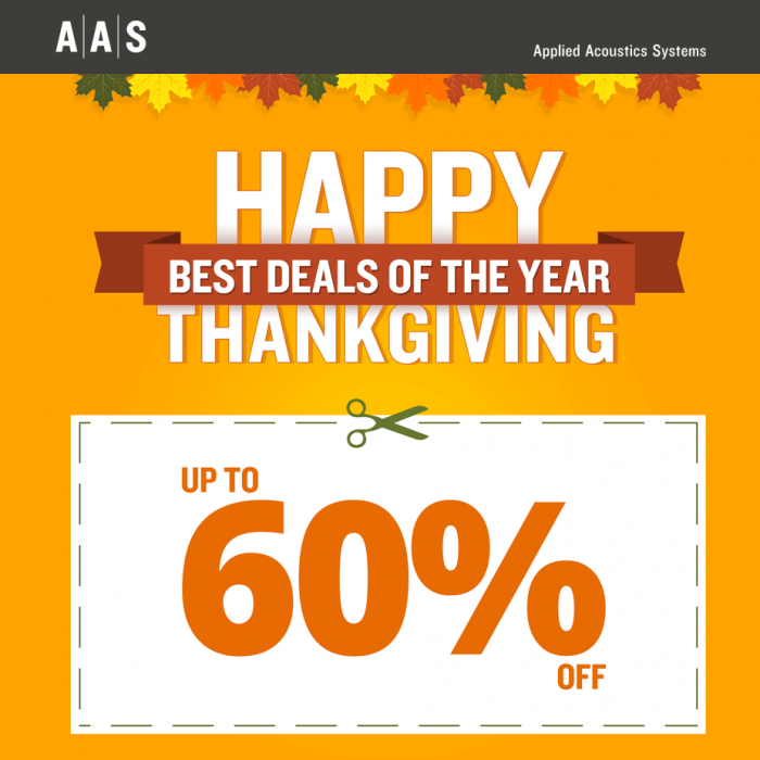 AAS Thanksgiving Sale