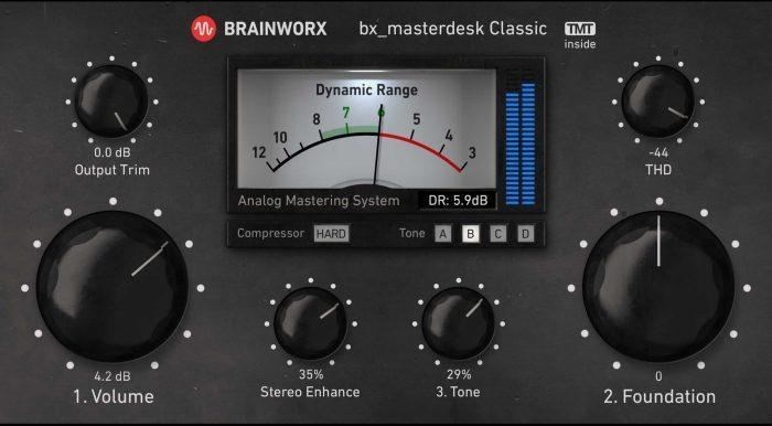 AUD Brainworx bx masterdesk Classic