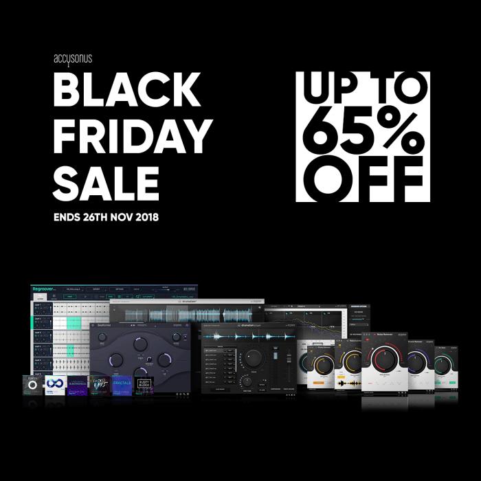 Accusonus Black Friday Sale