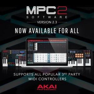 Akai MPC Software 2.3