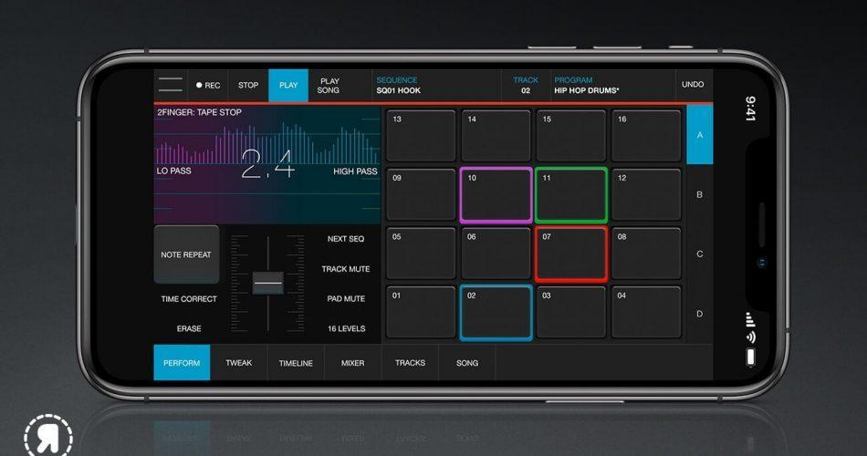 Akai Pro iMPC Pro 2 iPhone