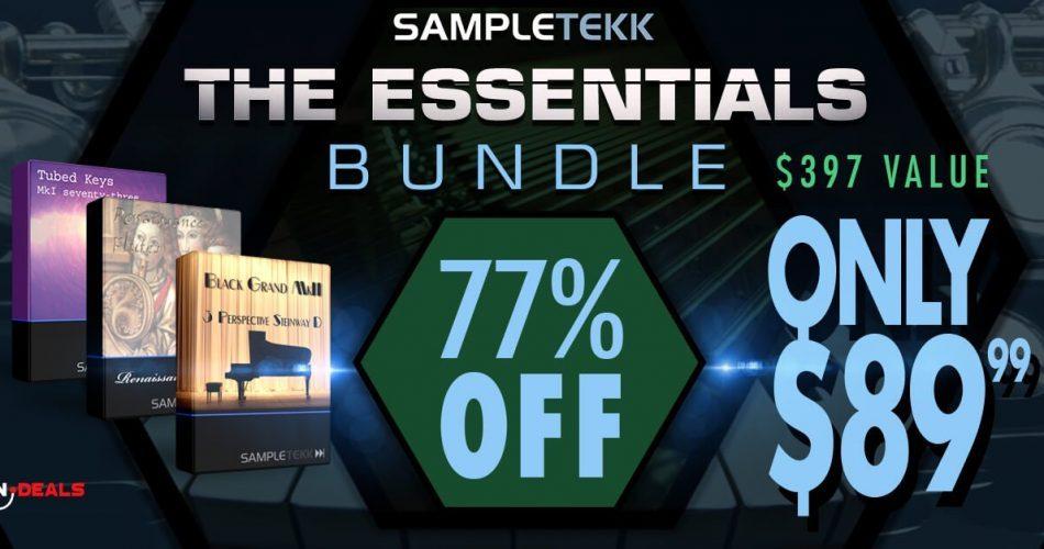 Audio Plugin Deals Sampletekk Essentials feat