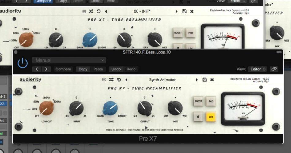 Audiority Pre X7