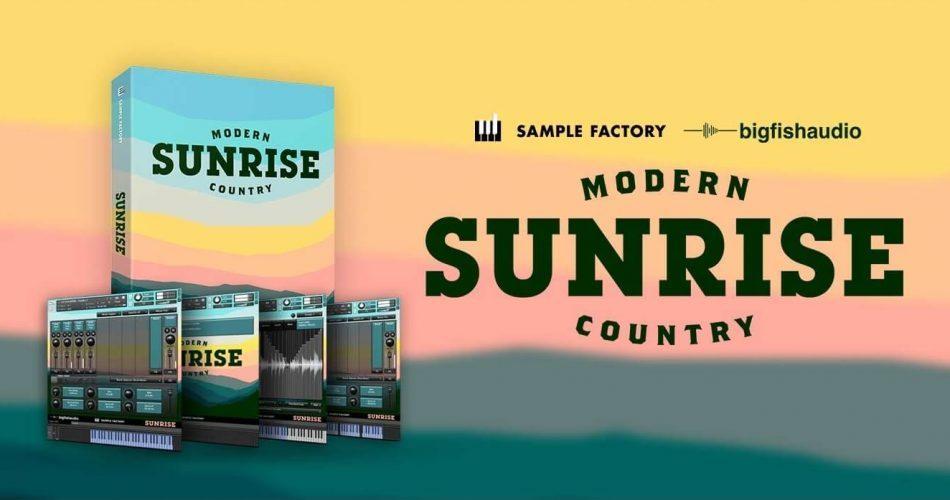 Big Fish Audio Modern Sunrise Country