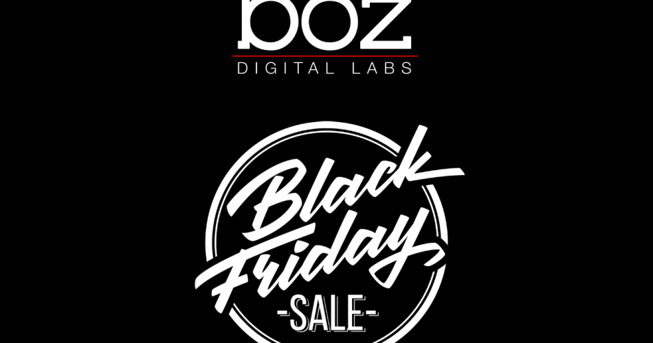 Boz Digital Labs Black Friday Sale