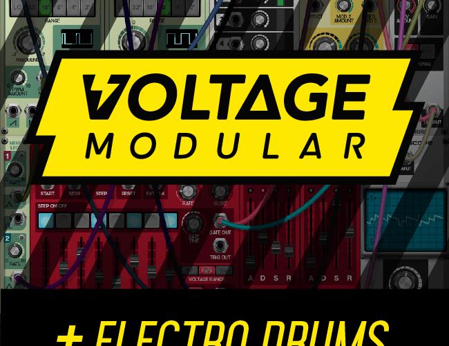 Cherry Audio Voltage Modular Electro Drums