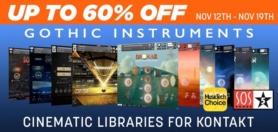 Gothic Instruments 60 off