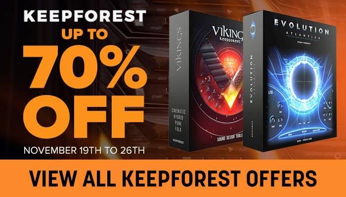 Keepforst Black Friday 70 off sale