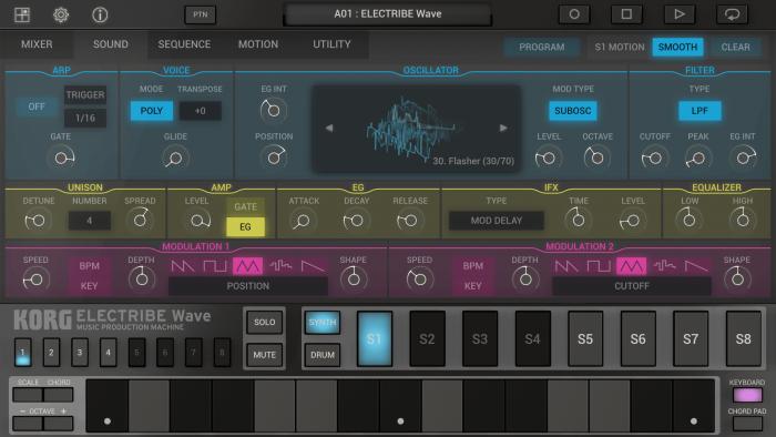 Korg Electribe Wave 2 sound
