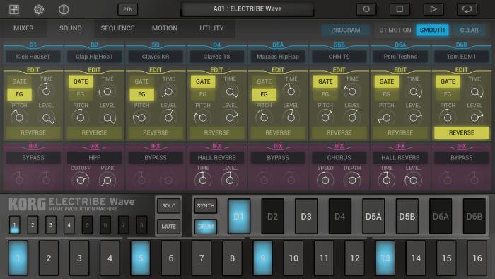 Korg Electribe Wave 2 sound edit