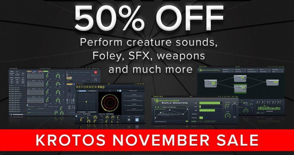Krotos November Sale